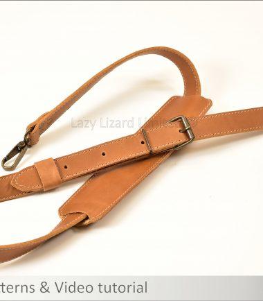 adjustable leather bag strap
