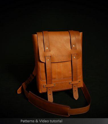 Leather Satchel, messenger bag patterns