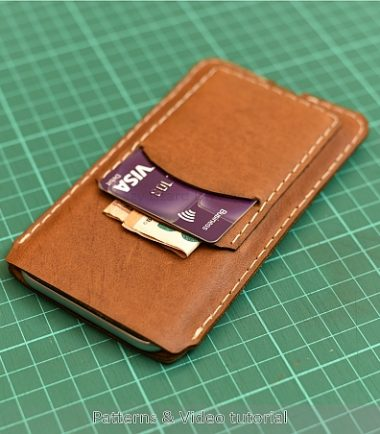 iPhone 6 leather case pattern