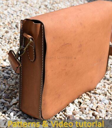leather laptop bag DIY