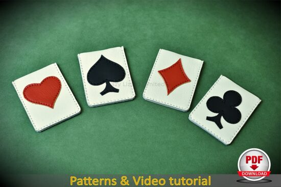 leather card sleeves patterns pdf
